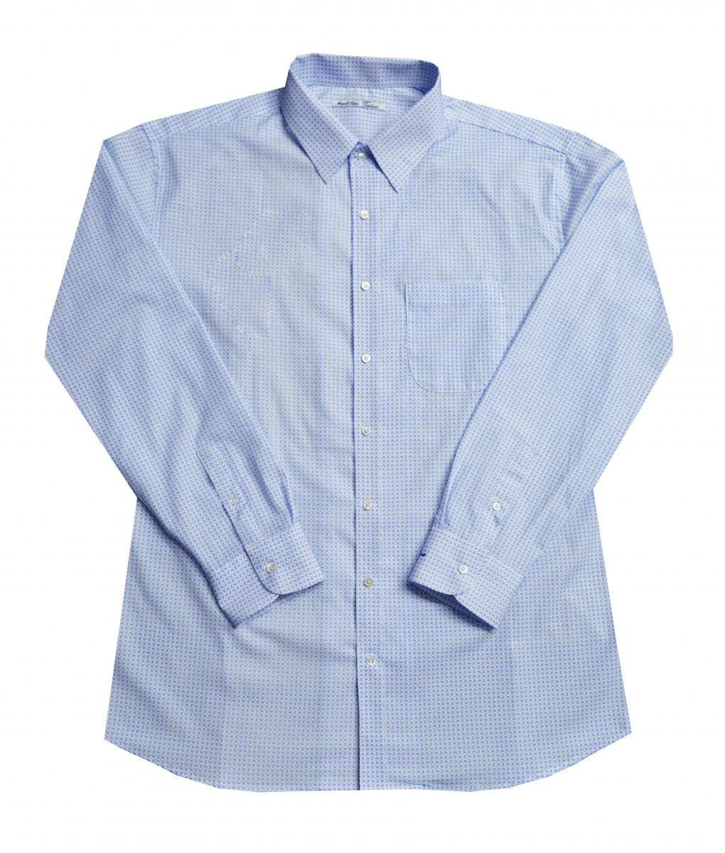 [オーダーシャツ]レトロモダンな空気感が漂う柄
