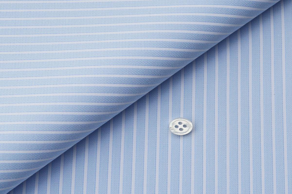 [オーダーシャツ]【形態安定シャツ】爽やかな印象で、好感度もアップ!