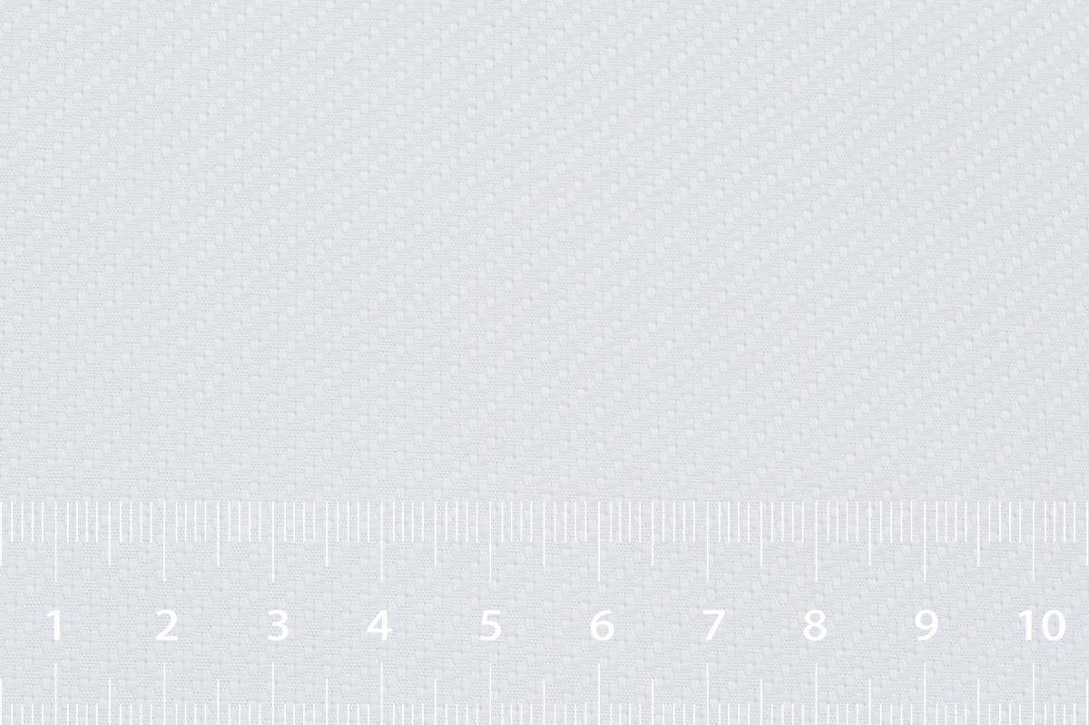 [オーダーシャツ]ドビー柄のホワイト生地はビジネスシーンに◎