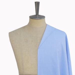 [オーダーシャツ]ドビー柄のブルー生地はビジネスシーンに◎