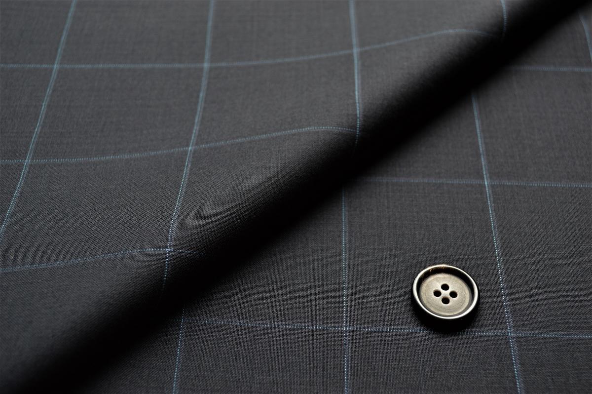 [オーダーレディーススーツ スカートセット]シンプルで一番挑戦しやすいチェック柄