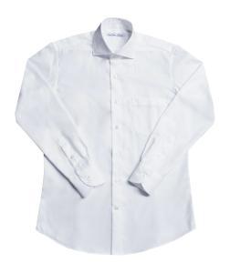 [オーダーシャツ]【形態安定】定番のオックスフォード白無地